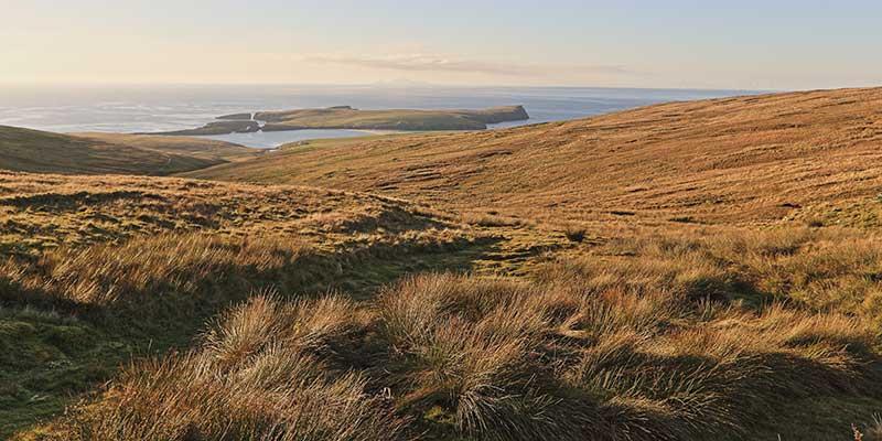 Peat Landslide Hazard, Onshore Wind, Shetland