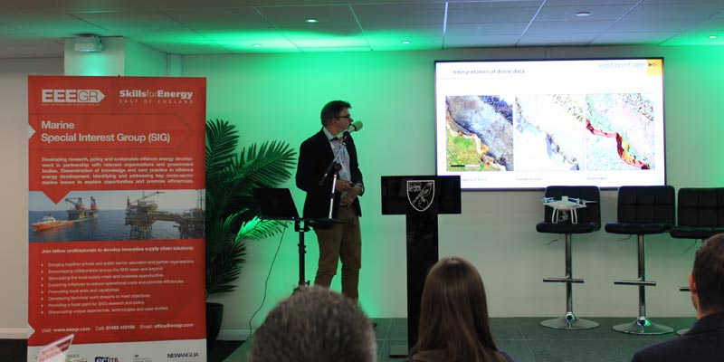Double presentation at EEEGR Marine Special Interest Group (SIG) Local Solutions: Global Reach, Norwich
