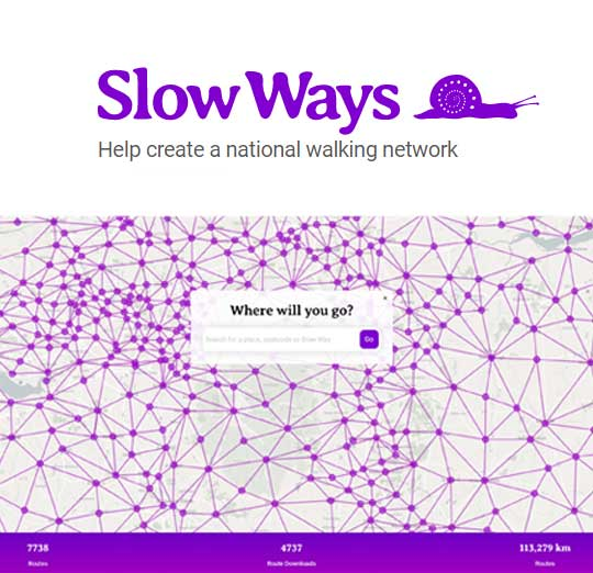 Supporting Slow Ways UK – a national walking network